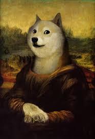 Meme Generator Doge - mona lisa doge blank template imgflip