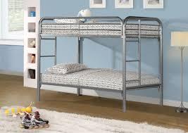 Monarch Specialties Inc Twin Futon Bunk Bed  Reviews Wayfair - Twin futon bunk bed