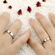 korean wedding rings aliexpress buy opk jewelry korean fashion white gold