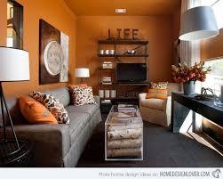 Orange Living Room Decor Living Room Orange Living Rooms Room Design Ideas Walls Burnt