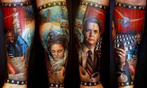 40 twin peaks tattoo designs for men tv ink ideas
