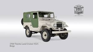 toyota th 1960 toyota land cruiser fj25 beige youtube
