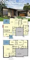 walkout basement house plans daylight on sloping lot slope with