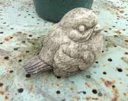 bird robin statue etsy