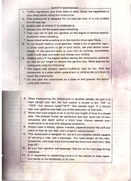 1983 owners manual xvz12 yamaha venture documents