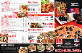 cuisines atlas atlas pizza menu menu for atlas pizza plateau mont royal montreal