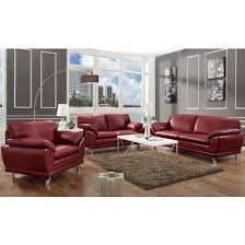 Best  Red Leather Sofas Ideas On Pinterest Red Leather - Red leather living room set