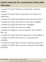 Airline Resume Sample by Top 8 Commercial Airline Pilot Resume Samples