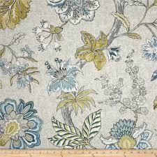 p kaufmann mandarin garden tropical blue discount designer