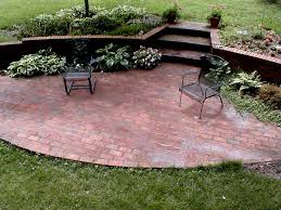 Cement Patio Designs Diy Brick Patio Designs Brick Patio Designs Cement Patio