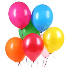 inflated helium balloons delivered tohfay home