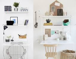 etagere bureau design 20 inspirations pour un petit bureau joli place