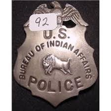 us bureau of indian affairs u s bureau of indian affairs badge
