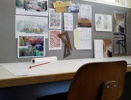 bulletin board design ideas home office modern with stair stair