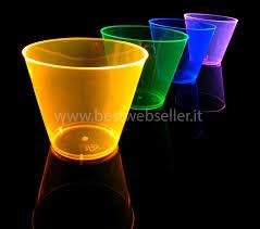 bicchieri fluorescenti 10 bicchieri reagenti agli uv wood glow fluo 295 ml mod1 12 00