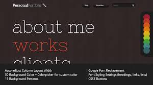 personal portfolio creative website template by yashma themeforest