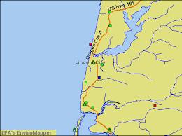 lincoln city map lincoln city oregon or 97364 97368 profile population maps