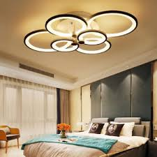 Acrylic Ceiling Light New Modern Bedroom Remote Living Room Acrylic 4 8 Led