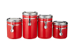 28 airtight kitchen canisters prime houseware airtight airtight kitchen canisters 4pcs red airtight ceramic canisters with hermetic lid for