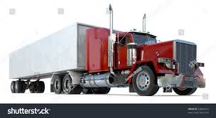 semi truck 18 wheeler semitruck on white stock photo 22884223 shutterstock