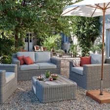 petit salon de jardin pour terrasse salon de terrasse meuble exterieur pas cher maisonjoffrois