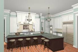 3d renderings of custom kitchen