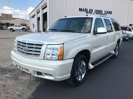 cadillac escalade used cars 2003 cadillac escalade esv in gainesville tx marler used cars