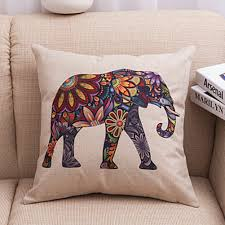 Chair Cushion Covers Compare Prices On Elephant Cushion Covers Online Shopping Buy Low