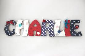 chambre mister bouh prénom personnalisé lettres en bois 15cm thème mister bouh chambre