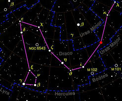 draco constellation facts about the dragon