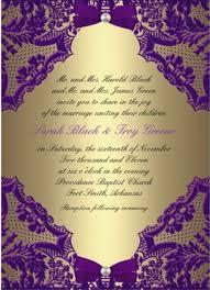Purple Wedding Invitations Purple And Gold Wedding Invitations U2013 Gangcraft Net