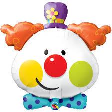 clown balloon clown foil balloon clown balloons