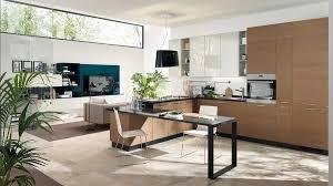 rösle offene küche küche offen zum wohnzimmer in weiß eiche grau dekor mit integriert