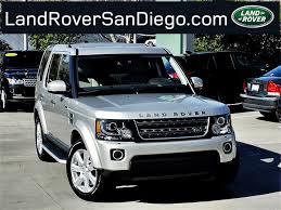 land rover lr4 2016 land rover lr4 san diego ca