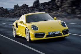 porsche coupe 2016 renewed porsche 911 turbo for 2016 the fastest 911 gets faster