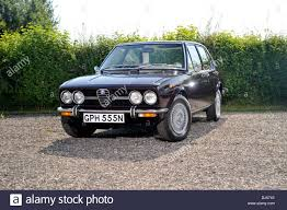 classic alfa romeo sedan 1974 alfa romeo alfetta saloon sedan classic car stock photo