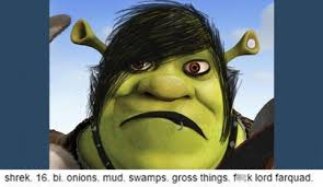 Shrek Memes - 24 funniest things tumblr had to say about shrek smosh