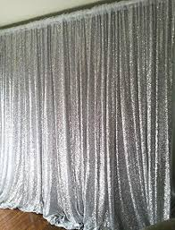 Gold Shimmer Curtains 20ftx10ft Silver Gold Shimmer Sequin Backdrop Sequin Curtains