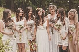 mix match bridesmaid dresses kate fierek wedding photographer six bridesmaids mix and