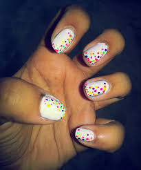 peppy spring nail art tressmess