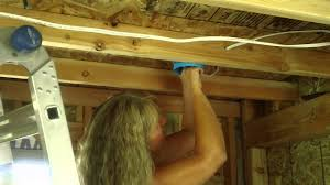 my wife is now an electrician annissa is wiring the house youtube