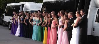party bus prom prom night limousine and party bus rentals le limo