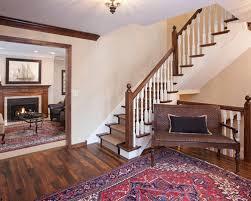 hardwood floor stair houzz