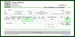 expense statement personal finances software