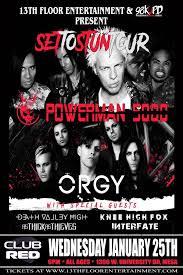 Hit The Floor Linkin Park - 13th floor entertainment powerman 5000 u2013 tickets u2013 club