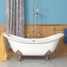 Bathroom Designs With Clawfoot Tubs by Chic Clawfoot Soaking Tub 48 Abbey Copper Double Slipper Clawfoot