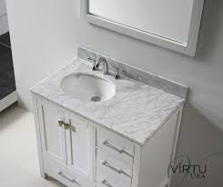 bathroom white bathroom vanities with tops with single sink and