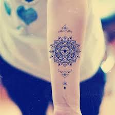 mandala tattoo zum aufkleben mandala temporary tattoo ethnic art mandala art large temporary