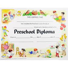preschool diploma preschool graduation certificates unique preschool diploma