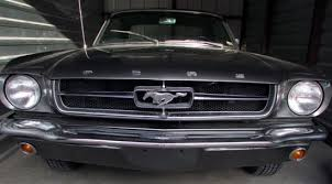 1964 Black Mustang 1964 1 2 Ford Mustang